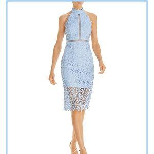 Gemma halter lace dress